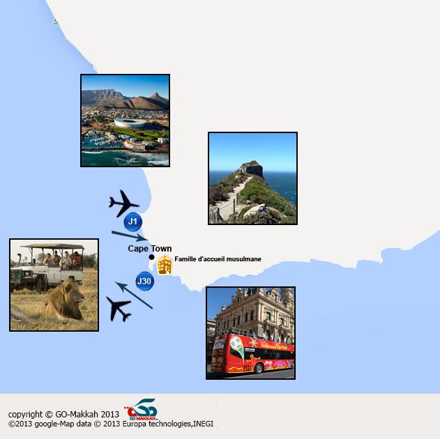 Apprendre l'anglais en Afrique de Sud - Cape Town