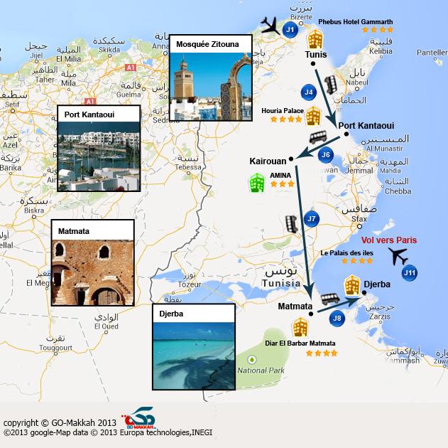 Circuit DECOUVERTE : Tunisie antique et islamique en famille