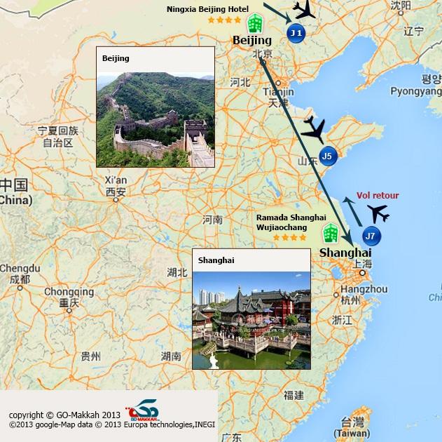 Chine islamique : Circuit entre Beijing et Shanghai