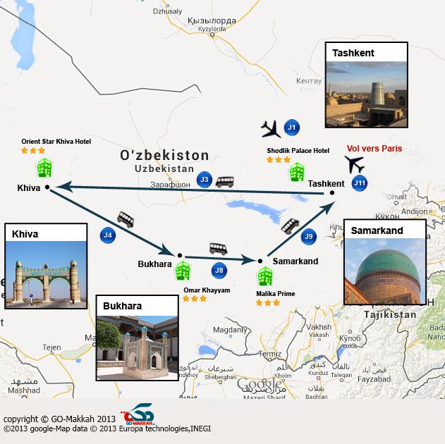 Islam et Soufisme à travers les villes mythiques d'Ouzbékistan
