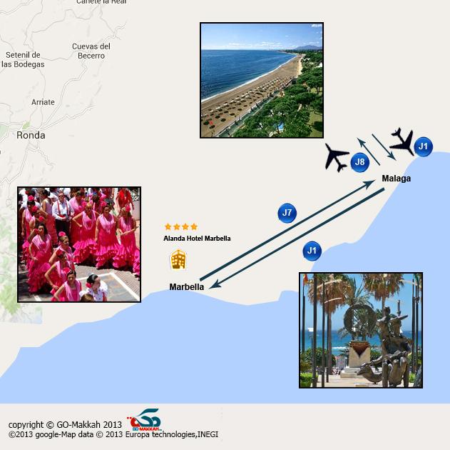 L' Andalousie avec programme libre - 8 jours à Marbella