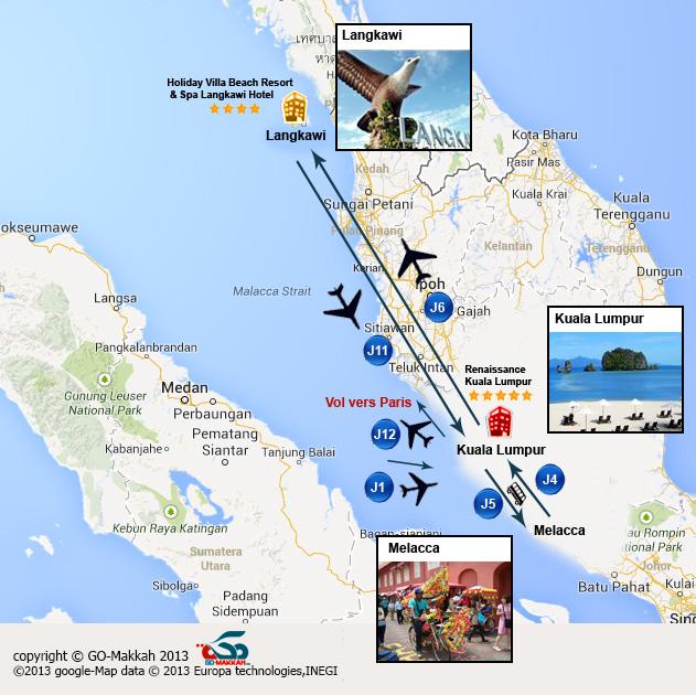 Malaisie en 8 jours : Kuala et Langkawi en grand confort