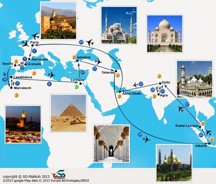 Tour du monde musulman en 5 semaines