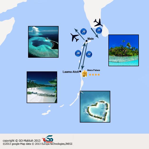 Une escapade romantique aux Maldives départ à tout moment