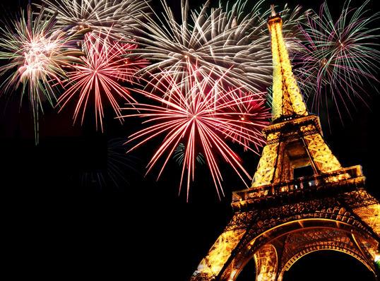 Spécial Jour de l'an à Paris