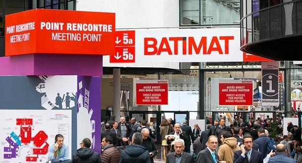 Spécial foire de BATIMAT Paris du 5 à 11 Novembre 2017