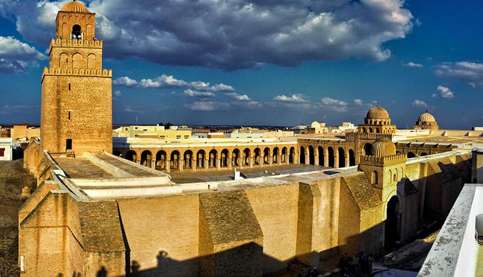 Voyage au patrimoine touristique de Kairouan en Tunisie
