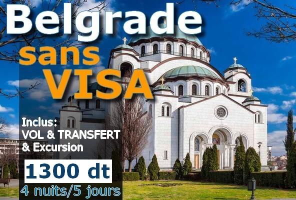 Belgrade – Serbie sans VISA