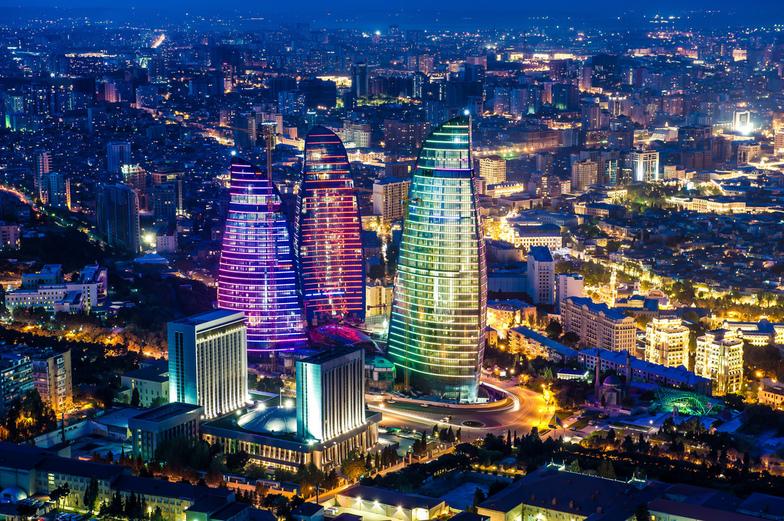 Le réveillon 2018 à Bakou dans un hôtel 5*