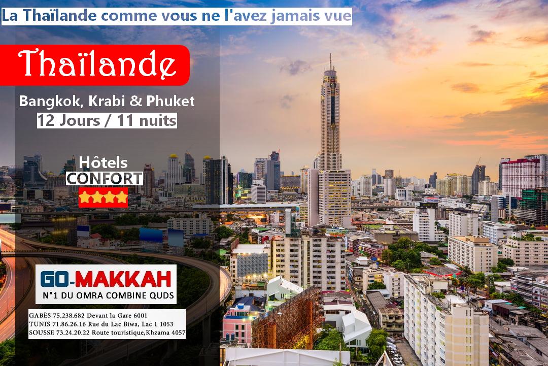 La Thaïlande comme vous ne l'avez jamais vue : Bangkok, Krabi & Phuket