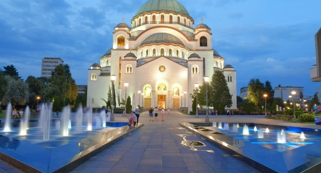 Une semaine à Belgrade - départ à tout moment