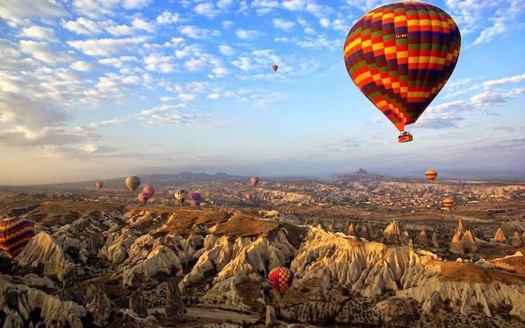 Circuit à travers les plus belles villes de Turquie :Istanbul - Cappadoce - Antalya