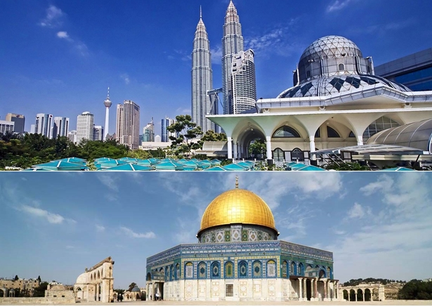 Combiné Malaisie avec Al Quds et Jordanie en deux semaines