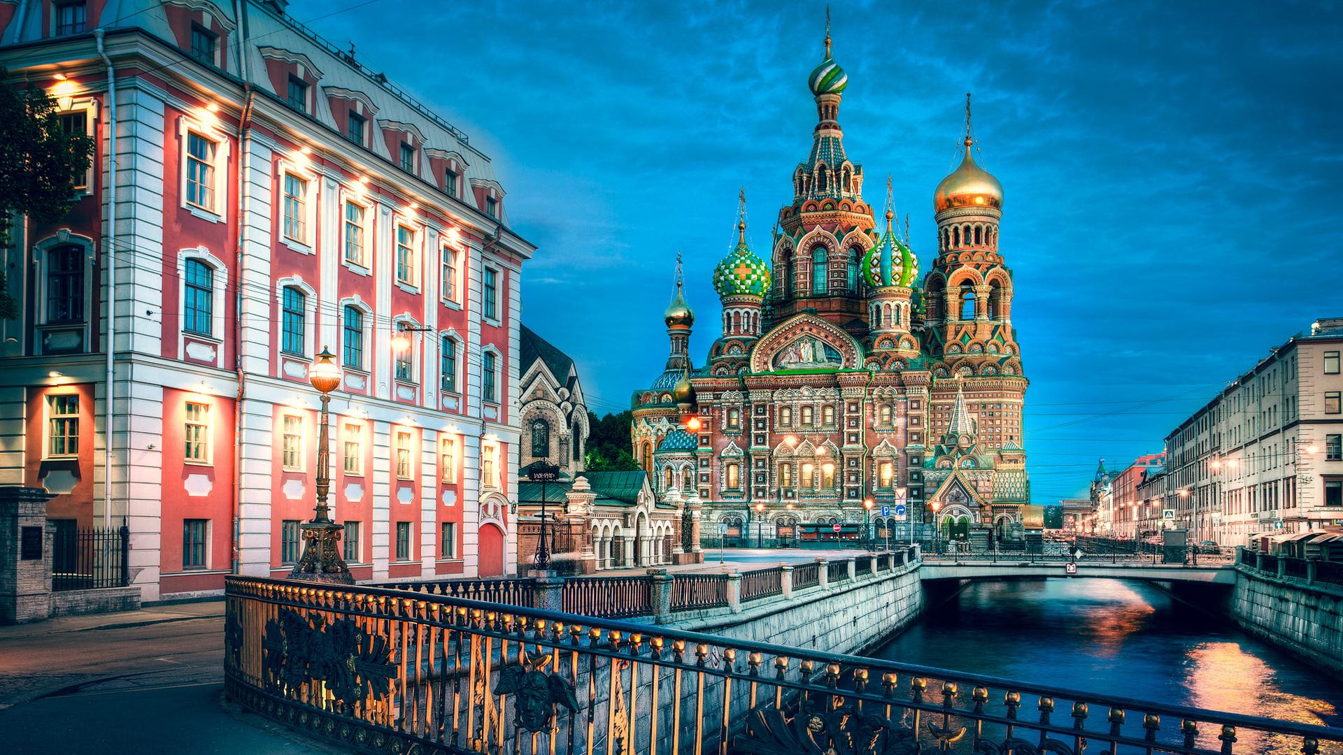 Spécial réveillon 2018 à Saint-Petersbourg