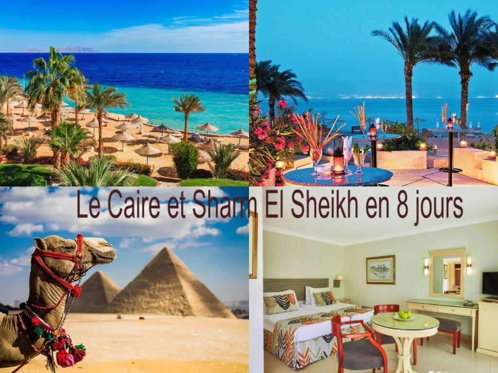 Egypte: Le Caire et Sharm El Sheikh en 8 jours