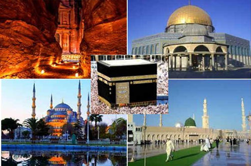Combiné Omra + Istanbul + Petra + Al Quds voyage unique