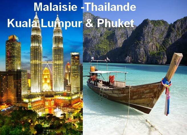 Malaisie -Thailande: Kuala Lumpur & Phuket en 10 jours
