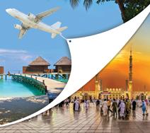 Combiné Omra avec les Maldives - îles en disparitions (hors hôtel aux Maldives)