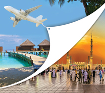 Combiné Omra avec les Maldives - îles en disparitions