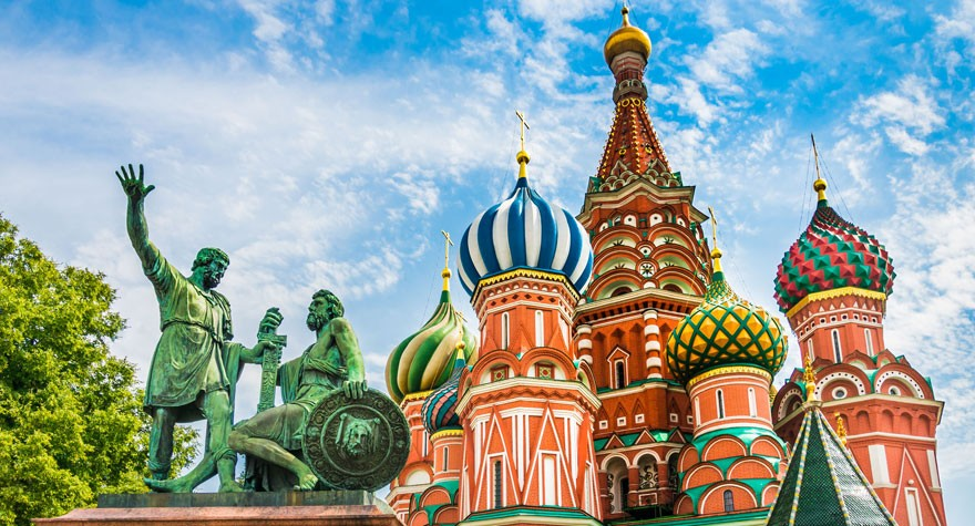 Croisière fluviale St.Pétersbourg & Moscou en 12 jours