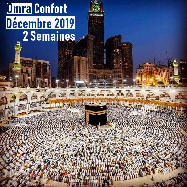 Omra Confort 2 semaines Décembre 2019
