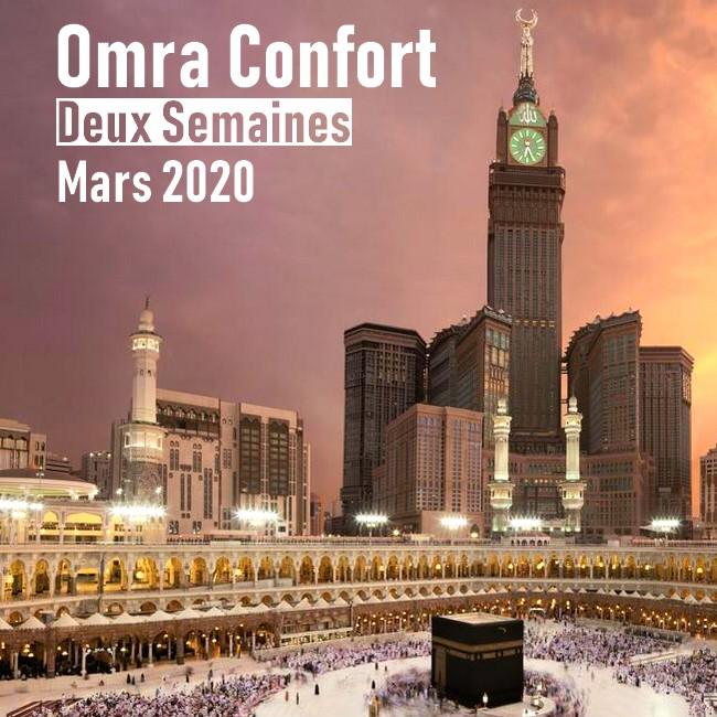Omra Confort 2 semaines Mars 2020