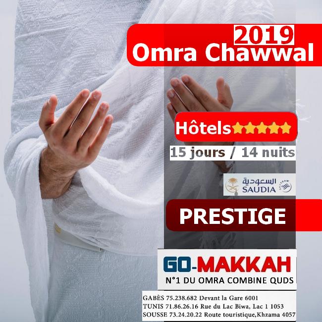 Omra Chawwal 2019 en Prestige