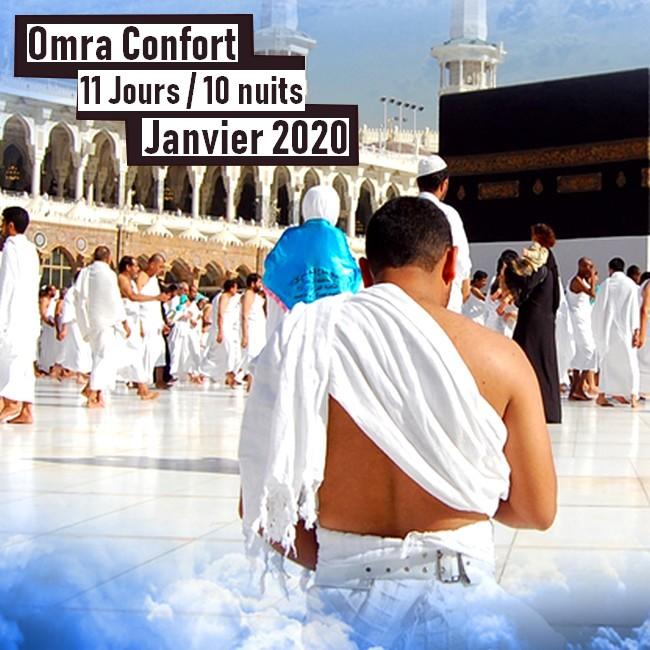 Omra Confort 11 jours Janvier 2020
