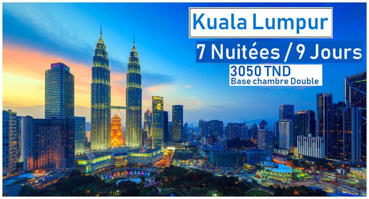 Voyage à Kuala Lumpur 09 JOURS / 07 NUITS