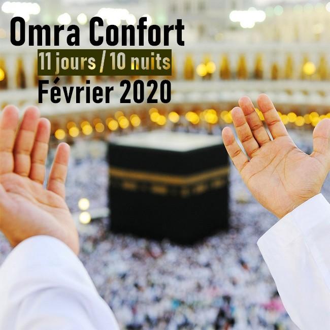 Omra Confort 11 jours Février 2020