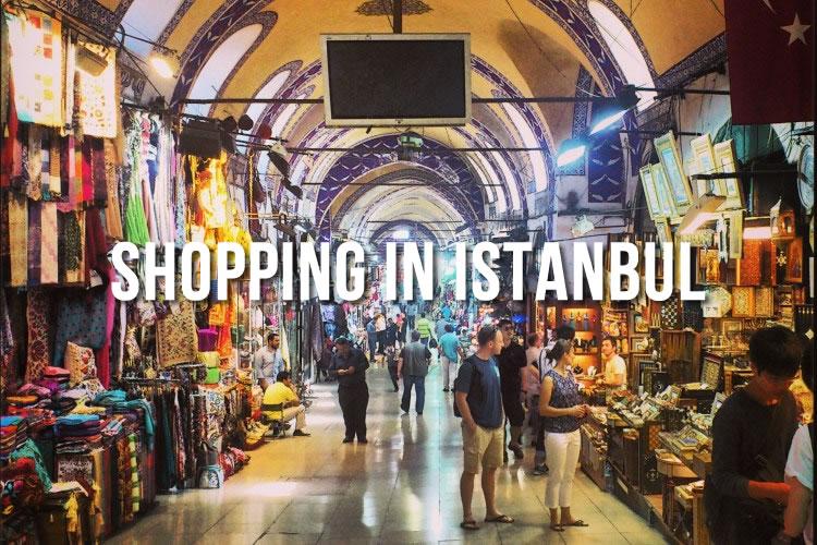Spécial shopping à Istanbul Janvier 2018