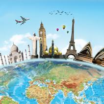 Tour du monde - départ en groupe